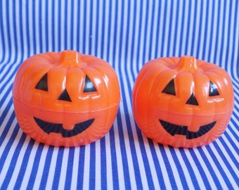 Plastic Toy Pumpkins