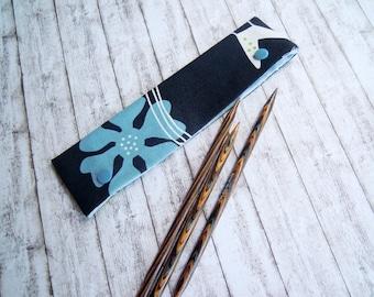 DPN keeper, Double Pointed knitting needle keeper, Sock needle cozy, DPN holder, dpn needle case, work-in-progress keeper