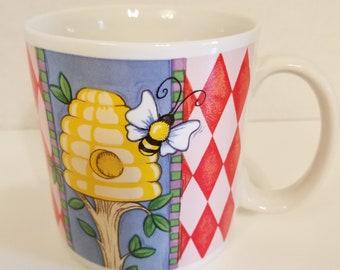 Russ Berrie Bee & Hive Coffee Mug VC0