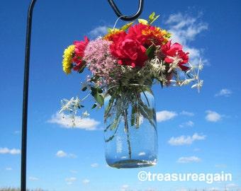 Hanging Flowers Lids Wide Mouth Hanging Mason Jar Flower Frog LIDS, DIY Wedding Flower Vases Lids Only