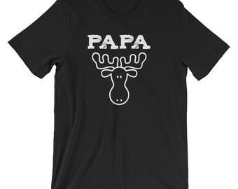 Matching Family Shirt / Matching Family Moose Shirt / Moose Shirt / Matching Family Vacation Shirts / Papa Moose Shirt