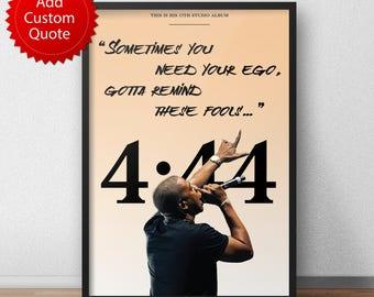 Jay z poster etsy jay z 444 poster malvernweather Choice Image