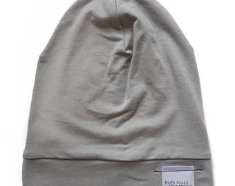 Bamboo Soft Beanie | Taupe