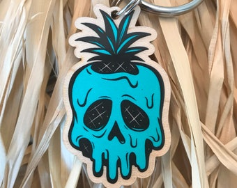 Poison Pineapple Keychain