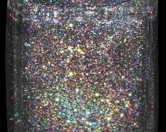 Rock The Galaxy Holographic Nail Polish