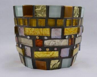 Plant Pot mosaic for house plant