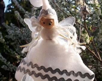 White Angel fairy / Elf/Figurine / yacht / fairy/personalized/lucky character