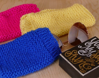 Knitted Sunglasses Holder/Sunglasses Case