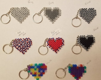 Hearts party favor pack - Set of 8
