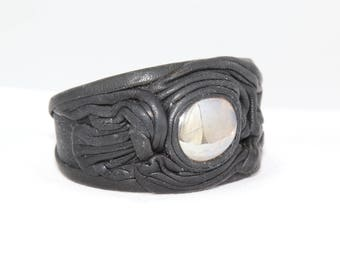 Handcrafted Leather Wrist Cuff