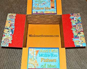 Care Package Kit - LDS Missionary 'Fishers of Men' - INSTANT DOWNLOAD