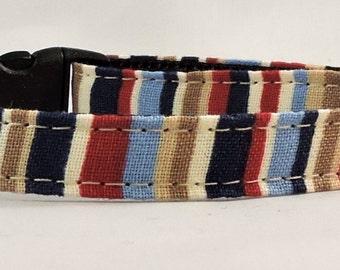 Cat Collar or Kitten Collar - City Construction Stripe
