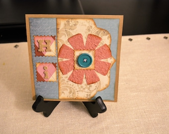 Friendship cards, Thinking of You, Just Because, Blank cards, Greeting cards, Homemade cards