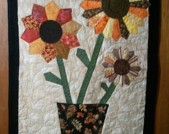 Dresden Flower Wall Hanging