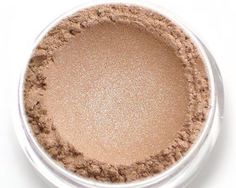 "Champagne Beige Eyeshadow with Shimmer - ""Charm"" - Vegan Mineral Eyeshadow"