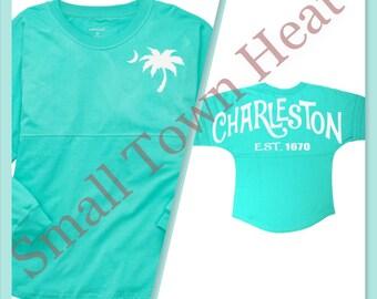 Charleston Inspired - Pom Pom Jersey - Oversized Jersey- Medium Weight