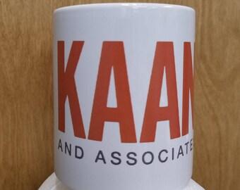 Kaan And Associates Coffee Mug Marty Kaan TV Show Cup Drinkware Gift Idea