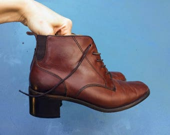 Brown Leather Equestrian Selby Boot