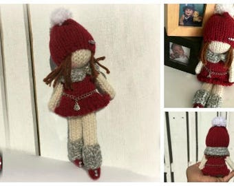 Loom Knitting PATTERNS Doll Toys Amigurumi Tiny Dolls - The Little Fashionista - Includes Video Tutorials by Loomahat