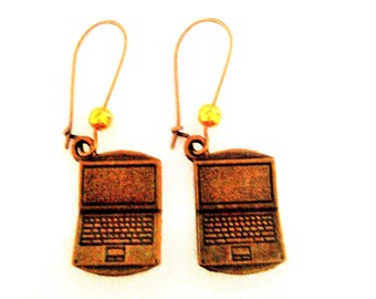 computer earrings