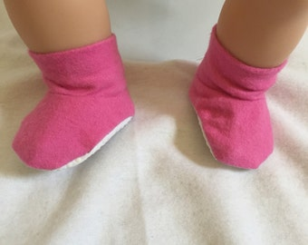Bitty Baby Booties - Baby Doll Shoes - Doll Accessories