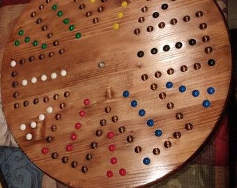 Hand made Aggravation Game Board