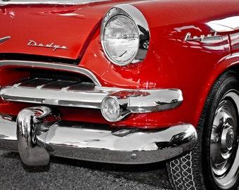1955 Dodge Royal Lancer Car Photography, Automotive, Auto Dealer, Muscle, Sports Car, Mechanic, Boys Room, Garage, Dealership Art
