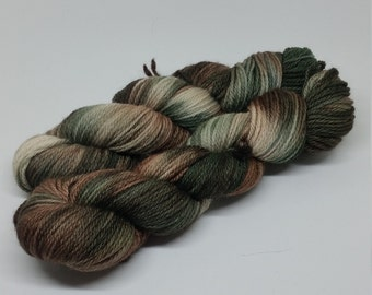 BFL Aran - Camouflage - 100% Bluefaced Leicester