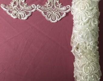 Vintage Wedding Dress Applique