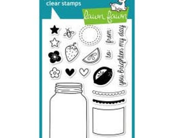 """Lawn Fawn-Summertime Charm - Clear Stamps 4""""X6"""""""