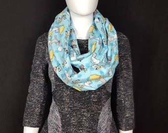 Cats infinity scarf