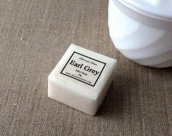 Earl Grey Guest Soap, soap favors, bergamot soap, earl grey soap, mini soap, Wholesale soap, guest soap, tea soap, hotel soap