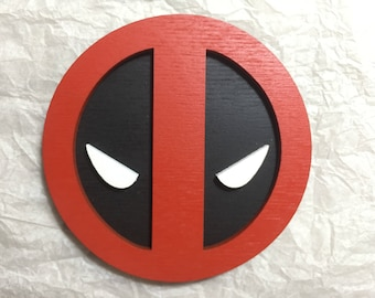 Deadpool wall decor (Marvel comics) - cosplay - wall decor for your home - gift -