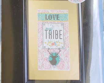 Love My Tribe - by Artiste - Kooler Design Studio - Counted Cross Stitch Kit - Brand New in Package - 1388958 – Zweigart