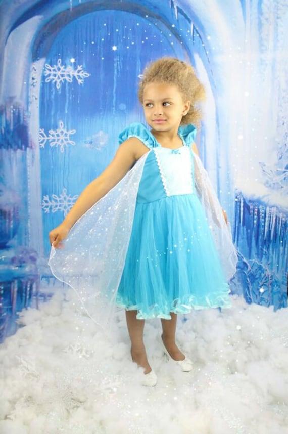 Elsa Kleid Elsa Tutu Kleid Elsa Prinzessin Kleid gefrorene
