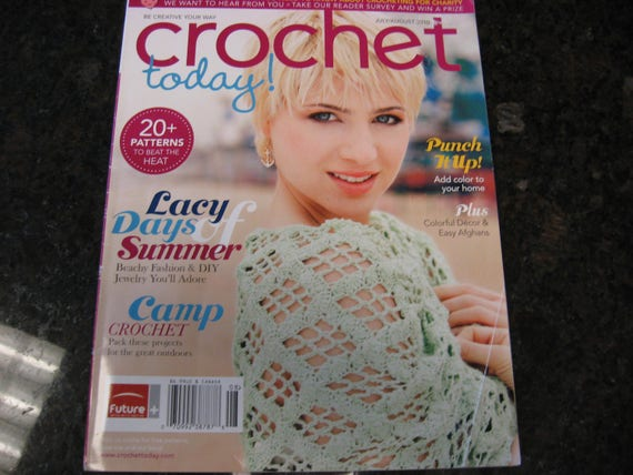 Crochet Today From Julyaugust 2010