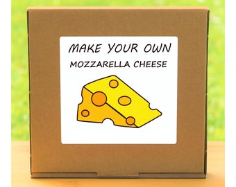 Make Your Own Mozzarella Cheese Making Kit - Quirky gift for men or women