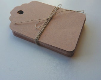 medium size linen buff beige brown colour plain card price hang gift tags