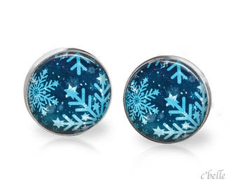 Christmas Earrings Winter-29