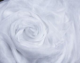 Margelan gauze silk by the yard gauze fabric Nuno felting textile Art Lightweight scrim