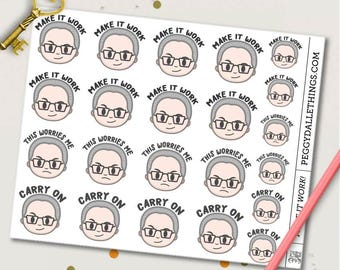 Tim Gunn Motivational Planner Stickers | Life Planners | Project Runway | Inspirational Quotes | TV Show
