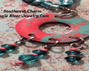 Beautiful Southwestern Charm Pendant Necklace