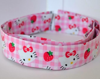 Martingale Dog Collar || Hello Kitty print