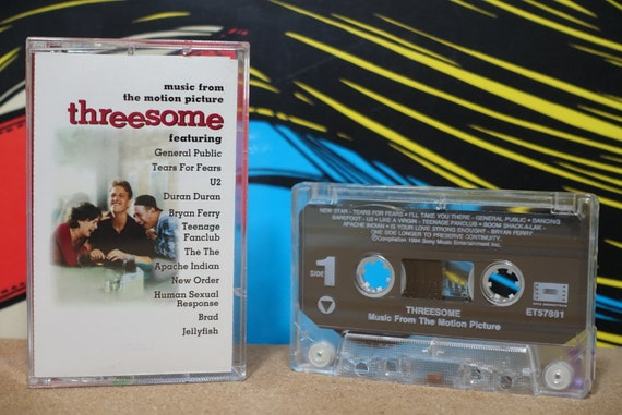Threesome: Music From The Motion Picture by Various Artists Vintage Cassette Tape