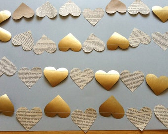 paper garland: for wedding