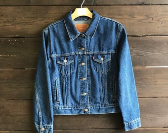 Vintage 90s Levi's Denim Trucker