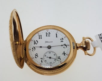 Vintage 1913 Illinois Pocket Watch