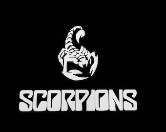 Scorpions Retro Music Band Custom Made NovelTee Rock and Roll