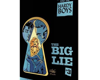 Nancy Drew and the Hardy Boys #3 cover!