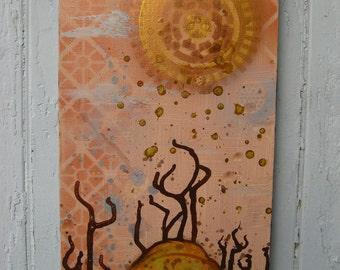 sun one - original painting